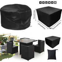 Outdoor Furniture Protector Covers 2 Size Garden Chairs Dust Cover Waterproof