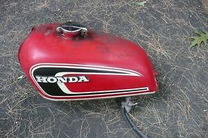 1974 Honda CB360T Gas Tank  Fuel Tank  Petrol Tank  Nice Emblems
