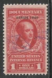 U.S. Revenue Documentary stamp scott r300 - $1.00 issue of 1940