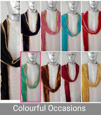 Men's Dupatta silk Indian for Sherwani Kurta Chunni Stole