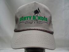 DIRTY BIRDIE INVITATIONAL - MENAGE A TROIS - GOLF - SNAPBACK BALL CAP HAT!