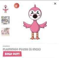 Flamingo Plush Youtooz (6 inch) In Hand