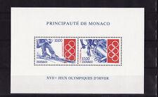 Monaco  bloc jeux olympiques de Lillehammer  de 1994   num: 63  **