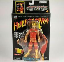 "New 2002 Jakk's Superstars uncoVered ""Hulk Hogan"" Action Figure WWF WWE NWO"