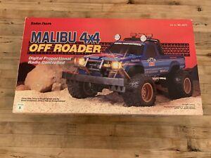 NEW Radio Shack ~NIKKO~ Malibu 4x4 Off Roader 1980s R/C Truck With Original Box