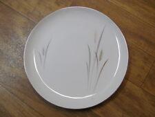 Vintage Dinner Plate Platinum Wheat Fine China Japan- Good Condition