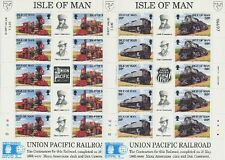INSEL MAN - 1992 EISENBAHN UNION PACIFIC RAILROAD 512-16 KLEINBOGEN **