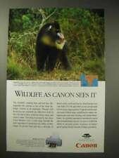 1996 Canon BJC-610 Bubble Jet Printer Ad - Mandrill
