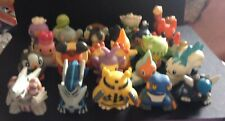 25 X Bandai Finger Puppet Pokemon Figures RARE Dialga Palkia Electivire Luxray