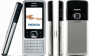 NEW Nokia 6300 Classic Silver Unlocked Camera Bluetooth Classic Mobile Phone UK