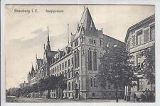 AK Strasbourg, Strassburg, Alsace, Hauptpostamt, 1906