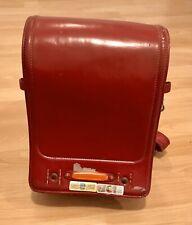 Randoseru Japanischer Schulranzen Rot gebraucht JapanSchultasche Rucksack