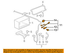 car & truck charging & starting systems for cadillac dts ebay 2009 2011 Buick Lucerne Cadillac Dts Electrical Fuse Box Upper gm oem battery negative cable 22743866 (fits cadillac dts)