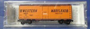 Micro-Trains - N Scale #21240 Western Maryland 40' Boxcar Rd #14