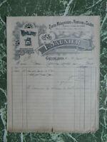 71 Génelard Ciclos Máquinas de Costura Mecánico Comerciante Buen Encabezado 1912