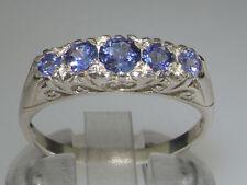 Tanzanite Natural White Gold Fine Gemstone Rings