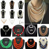 Charm Fashion Women Jewelry Pendant Choker Chunky Statement Chain Bib Necklace