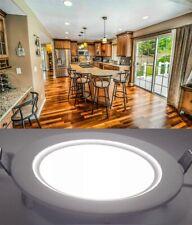 LED Recessed Flat Ceiling Panel Light Spot Down Light Fixture Lamp Bulb + Driver