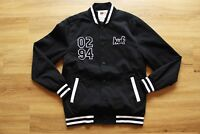 HUF x CHOCOLATE VARSITY JACKET NEU BLACK GR:M HUF WORLDWIDE