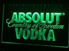 Absolut Vodka Led Neon Night Light Sign Display Banner Drinker Lover Bar Decor