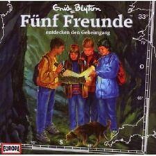 """FÜNF FREUNDE """"ENTDECKEN DEN GEHEIMGANG (FOLGE 33)"""" CD HÖRBUCH NEUWARE"""