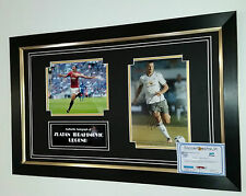 ** NEW Zlatan Ibrahimovic Signed Photo Picture AUTOGRAPH Display  ***