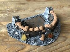 Forgeworld Warhammer 40k Defense Emplacement OOP Painted