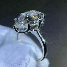 3.00 Ct Pear Cut Lab-created Diamond Engagement Ring 14K White Gold