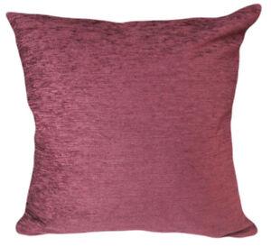 Wb11Ba Plain Burgundy Chenille Cotton Throw Cushion Cover/Pillow Case*Cust Size*