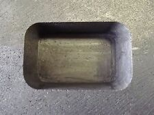4-OZ PURE GOLD GRAPHITE MOULD FOR GOLD OR SILVER INGOTS