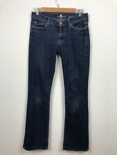 7 FOR ALL MANKIND Womens BOOTCUT Jeans Size 27 X 33