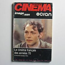 La revue du cinéma 355. Le cinéma français des années 70.