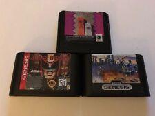 Sega Genesis Cartridge Lot Super Thunder Blade Judge Dredd More Tested Working