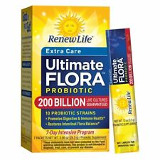Ultimate Flora Extra Care Probiotic 200 billion - 7 Pk | Immunity & Bowel Health