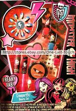 MONSTER HIGH* 50pc Set CREEPERIFIC BEAUTY Nail Polish+Separators+Gloss+MORE 1/2