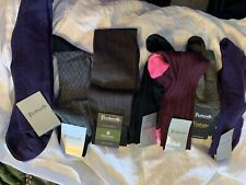 PANTHERELLA SUPER LUXURIOUS wool/cotton/ SOCKS lot of seven