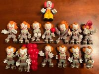 Funko Mystery Minis IT - PENNYWISE EXCLUSIVE SET OF 14 - Chapter 1 & 2 ALL RARES