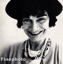 1958 Vintage  GABRIELLE CHANEL COCO France Fashion Designer RICHARD AVEDON 11x14
