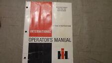 IH International 105 and 110 Forage Box Operators Manual