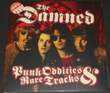 THE DAMNED punk oddities & rare tracks UK 2-LP new CLEAR VINYL w/ BLACK SPLATTER