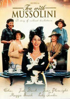Tea with Mussolini DVD NEW