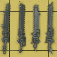 Warhammer 40K Space Marines Space Wolves Thunderwolf Cavalry Chainswords