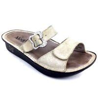 1 Right Foot Only Alegria Pg Lite Womens Sandal Strap Light Tan Adjustable Sz 37