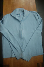Mädchen Sweatshirt Jacke Gr. 170/176 hellblau C&A
