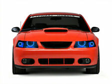 Ford Mustang 99 04 Chs Multi Color Led Headlight Halo Ring Rf Kit Fits Mustang