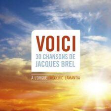Voici 30 Chansons De Jacques Brel A L'Orgue Freder - Fre (2014, SACD NUEVO) Sacd
