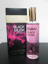 JOVAN BLACK MUSK  3.25 OZ / 96 ML NIP CONCENTRATE COLOGNE SPRAY WOMEN