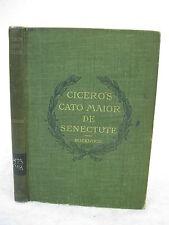 Frank Ernest Rockwood  DE SENECTUTE  LATIN  American Book Company c. 1895
