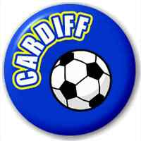 Cardiff Fc Football Supporter 25Mm Pin Button Badge Lapel Pin