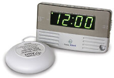 Bed Shaker Alarm Clock, Loud, Will Wake You Up! Powerful Vibrating, travel size